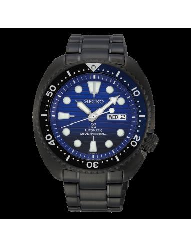 Seiko Save the ocean black edition turtle SRPD11K1 - orola.it