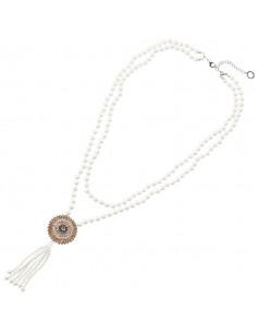 Collana ottaviani con perle