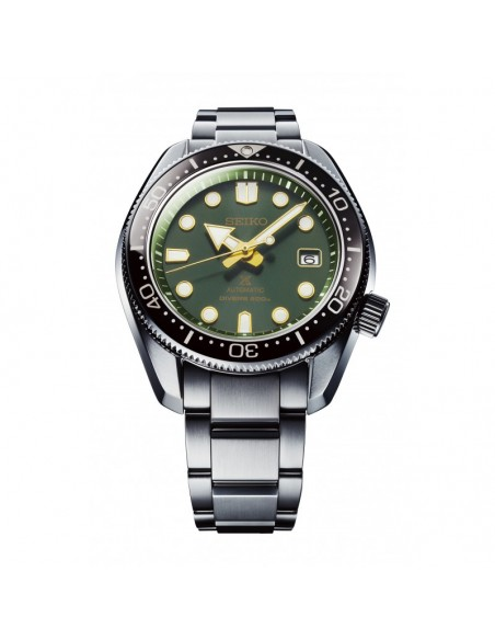 Seiko Diver's re interpretation 1968 Green SPB105J1 - orola.it