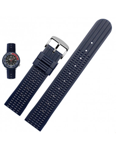 Cinturino diver Blu 22mm pirb22mm - orola.it