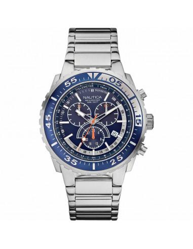 Nautica cronografo blu e bianco